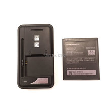 1PCS Universal battery Charger + 1PCS BL198 battery 2250mAh High quality for Lenovo A860E/S890/A850/A830/S880  mobile Phone