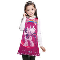 2017 New My Little Pony Children Dress Kids Clothes Baby Girl Clothing Summer Princess Dresses Girl