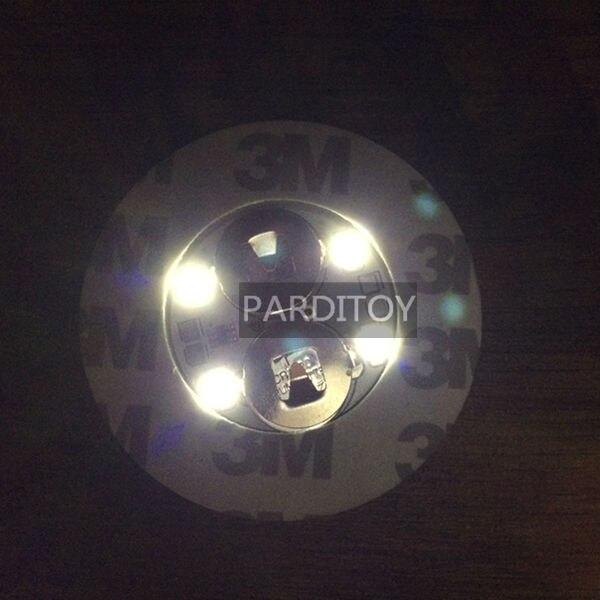 SıCAK Gece kulübü LED şişe sticker kızdırma sticker Beyaz renk - Tatiller ve Partiler Için - Fotoğraf 4