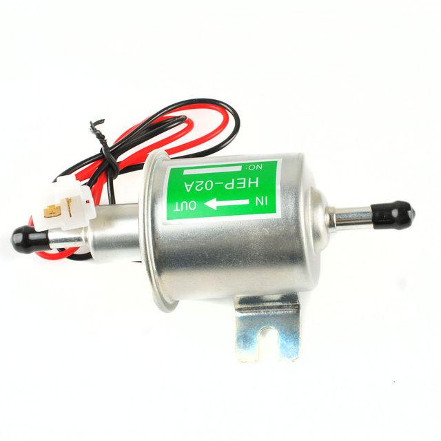 12 V Bomba Elétrica De Combustível Para A Motocicleta de Baixa Pressão HEP-02A Carburated 8z1529 fp 02 ATV