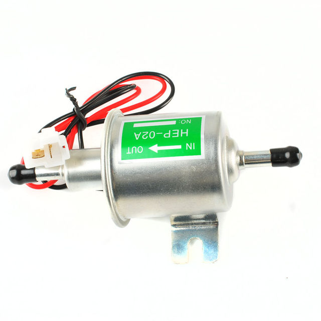 12V HEP-02A Electric Fuel Pump For Motorcycle Low Pressure Carburated fp 02 ATV 8z1529