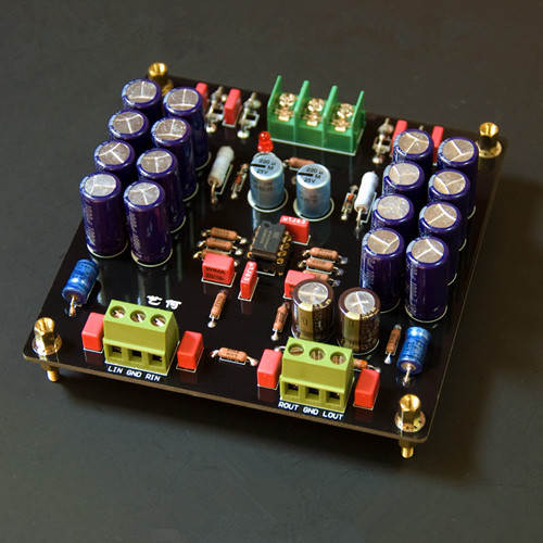 ФОТО Assemble M3 Preamplifier Board HIFI OPA2604 Preamp High Quality For Amplifier