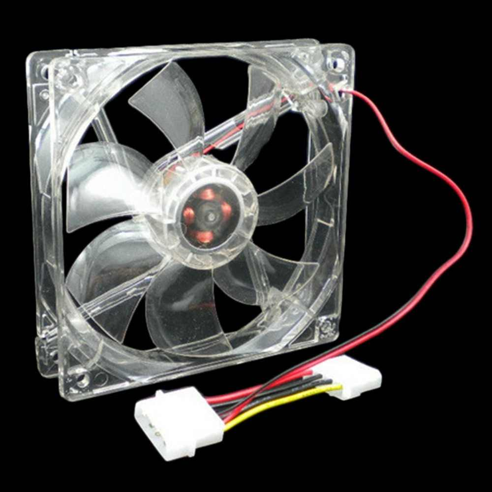 12 V 0.20A 80x80x25mm Computer-fan 4 LED Silent PC Computer Fall Kühler Lüfter mod blau und bunte licht