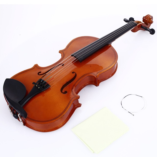 Beginner Violin Practical 4-6 Years Old Student 1/8 Violin Portable Resin Gifts Durable Tochigi Violin Bright Red Decoration