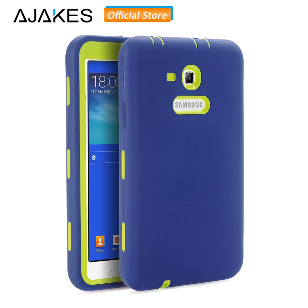 Case For Samsung Galaxy Tab E Lite 7.0/Tab 3 Lite 7.0 Kids Heavy Duty Shockproof Case for SM-T110 /SM-T111 /SM-T113 /SM-T116 alabasta kids shockproof rugged heavy duty silicone pc case cover for samsung galaxy tab 3 lite 7 0 sm t110 t111 t113 t115