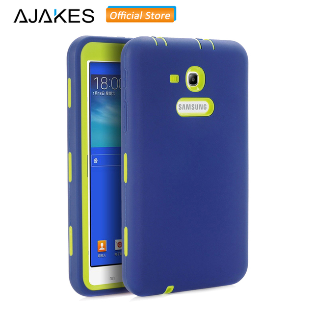 cheap for discount 737b0 39f47 US $9.99 20% OFF|Case For Samsung Galaxy Tab E Lite 7.0/Tab 3 Lite 7.0 Kids  Heavy Duty Shockproof Case for SM T110 /SM T111 /SM T113 /SM T116-in ...