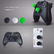 سيليكون التناظرية Grips متحكم الأصابع Xbox One قبعات غطاء ل ذراع تحكم أكس بوكس واحد الجمجمة و Co. FPS ماستر Thumbstick غطاء لجهاز Xbox واحد غمبد