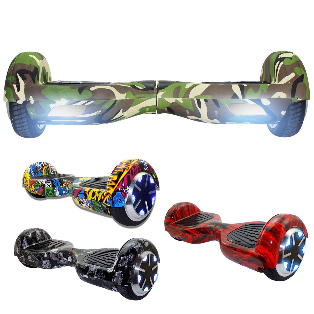iscooter camouflage hoverboard electric self balancing. Black Bedroom Furniture Sets. Home Design Ideas