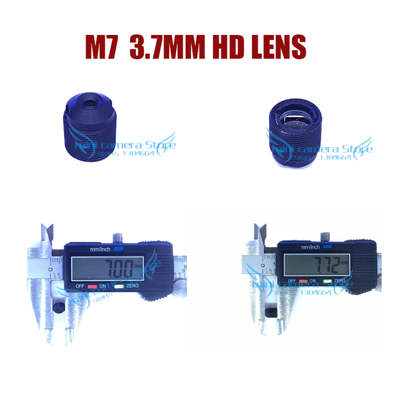 HD mini camera M7- 3.7mm Pinhole lens  for video surveillance camera CCTV  CCD/CMOS/IPC/AHD Camera DIY Module Free shipping