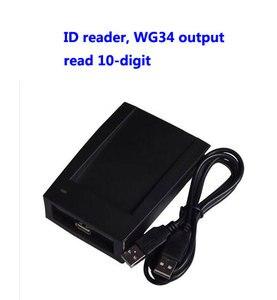 Image 1 - Считыватель RFID, USB считыватель, считыватель карт EM/ID, считывание 10 значных, выход WG34, устройство назначения usb, sn:09C EM 34, мин: 20 шт.