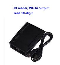 Rfid Reader, Usb Reader, Em/Id Kaartlezer, Lezen 10 Cijfers, WG34 Output, usb Toewijzen Apparaat, Sn: 09C EM 34, Min: 20 Pcs