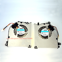Shisha Brand new GS60 fan Laptop GPU and CPU Cooling Fan For MSI GS60 PAAD06015SL 0.55A 5VDC N293