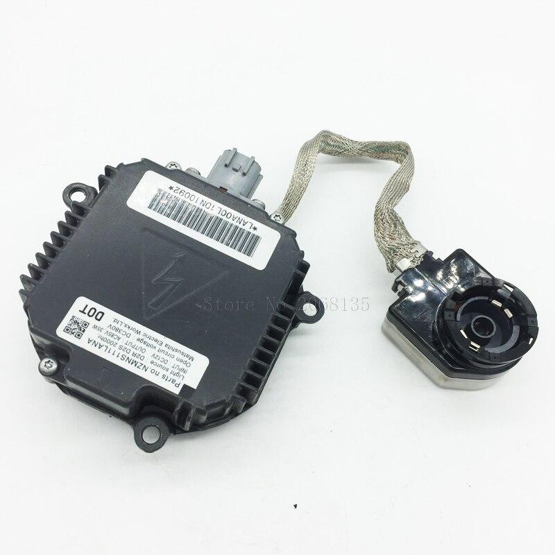 D2S D2R HID Xenon Headlight Ballast Control Unit Module OEM:NZMNS111LBNA NZMNS111LANA For Nissan Honda Mazda Infiniti Renault стоимость