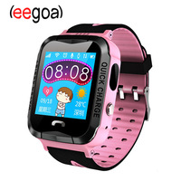 A6SG GPS Child Smart Watch Phone Position Child Watch Color 1.22 inch Touch Screen SOS Smart Watch Baby PK Q90 Q50 Q80 Q60 Watch