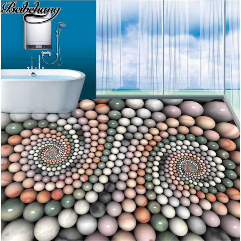 beibehang Custom flooring decorative painting 3d abstract three-dimensional jade beads bathroom floor painting 3D floor tiles 1200w 48v adjustable 220v input single output switching power supply for led strip light ac to dc