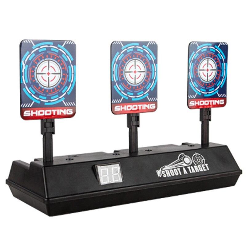 Electronic Scoring Target Electric Meter Sub-Target Automatic Return Score Target (Scoring Display, With Sound Effect, With Fl