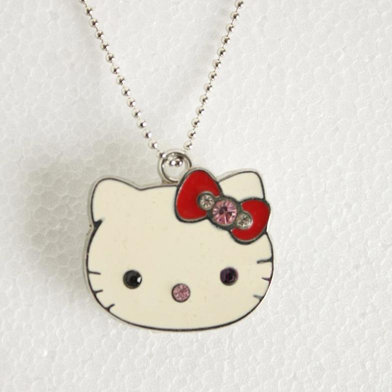 Cute KT Cat Pen Drive Flash Memory Card 16GB.32GB/64GB Jewelry Mini USB Flash Drive Pendrive Real Capacity Usb Stick Gift Gifts