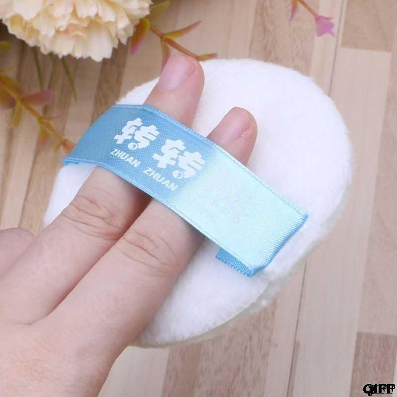 Puff de bebé polvo de talco Super suave mezcla de algodón lavable reutilizable cuidado de recién nacido enfermería bañera esponja maquillaje cosmético