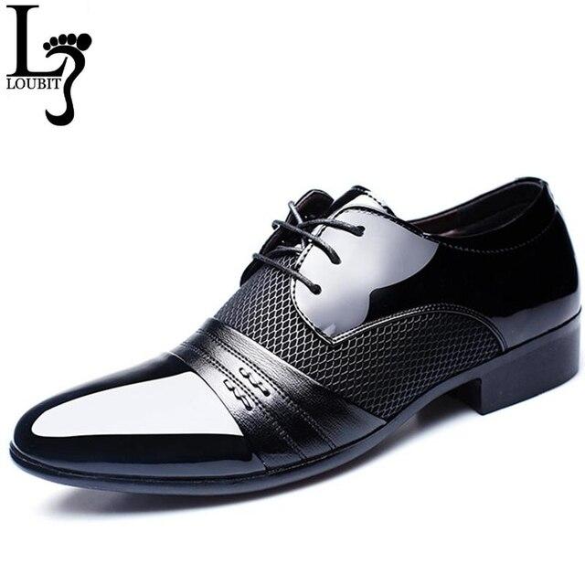 Мужские туфли модные кожаные Для мужчин Бизнес без каблука Обувь чёрный; коричневый дышащая Для мужчин формальные офис рабочая обувь большой размер 38-48