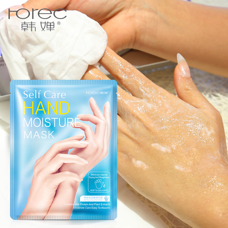 Rorec 1 Pair 2pcs Exfoliating Peel Hand Mask Hand Soft Skin Care Remove Callus Hard Dead Skin Women Beauty Whiten Tender Hand Buy At The Price Of 5 08 In Aliexpress Com Imall Com