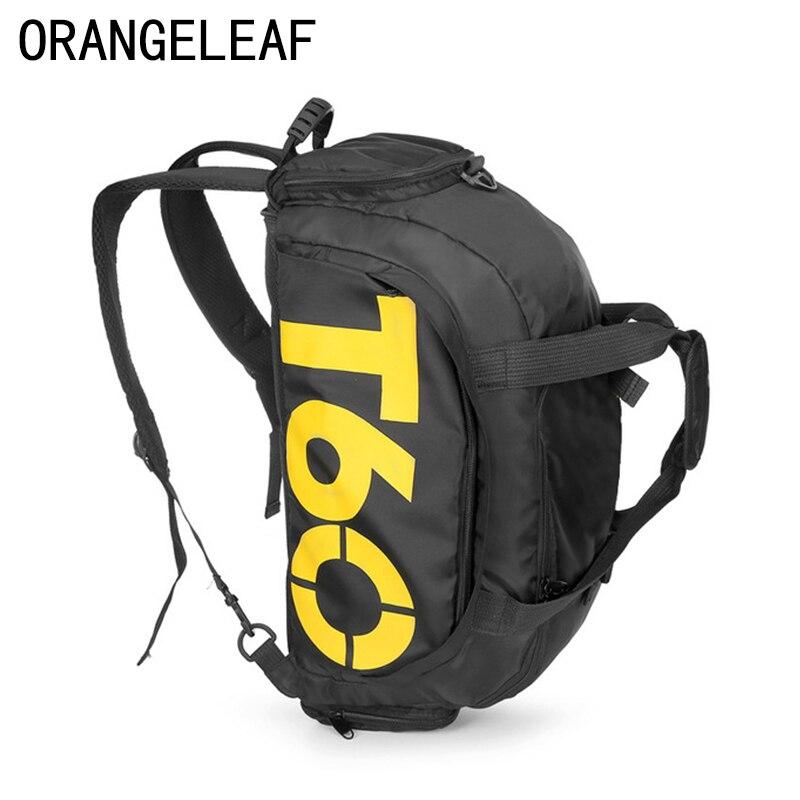 01a48e73b784 Модные Водонепроницаемый дорожная сумка большая Ёмкость сумка Для женщин  Для мужчин многоцелевой Чехол для обуви путешествия рюкзак много.