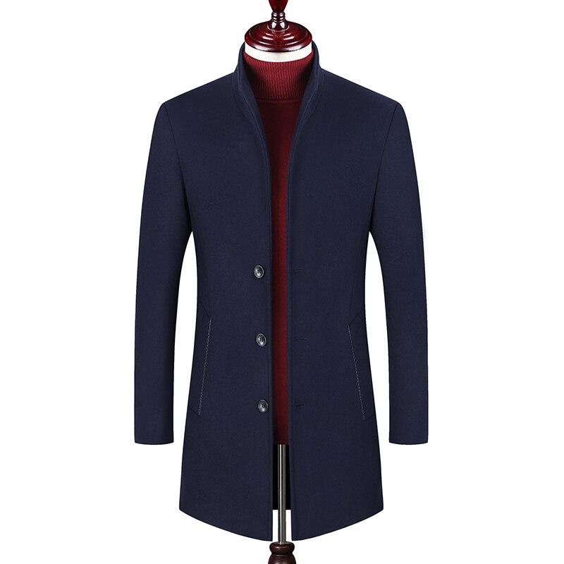 Streetwear gris Épais Solide Vêtements Coréenne Parkas Qualité Noir Marque bourgogne Veste Bulle Blue Hommes Hiver Couleur Manteau dark 2018 De vert Mode Haute Puffer PnqYCwSz1x