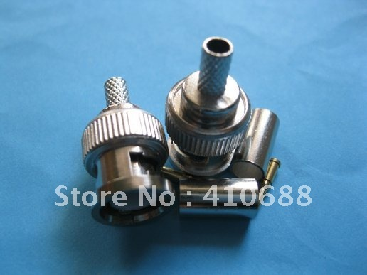 300 Set 3-piece BNC Male Crimp Connector RG58 Hot Sale HIGH Quality