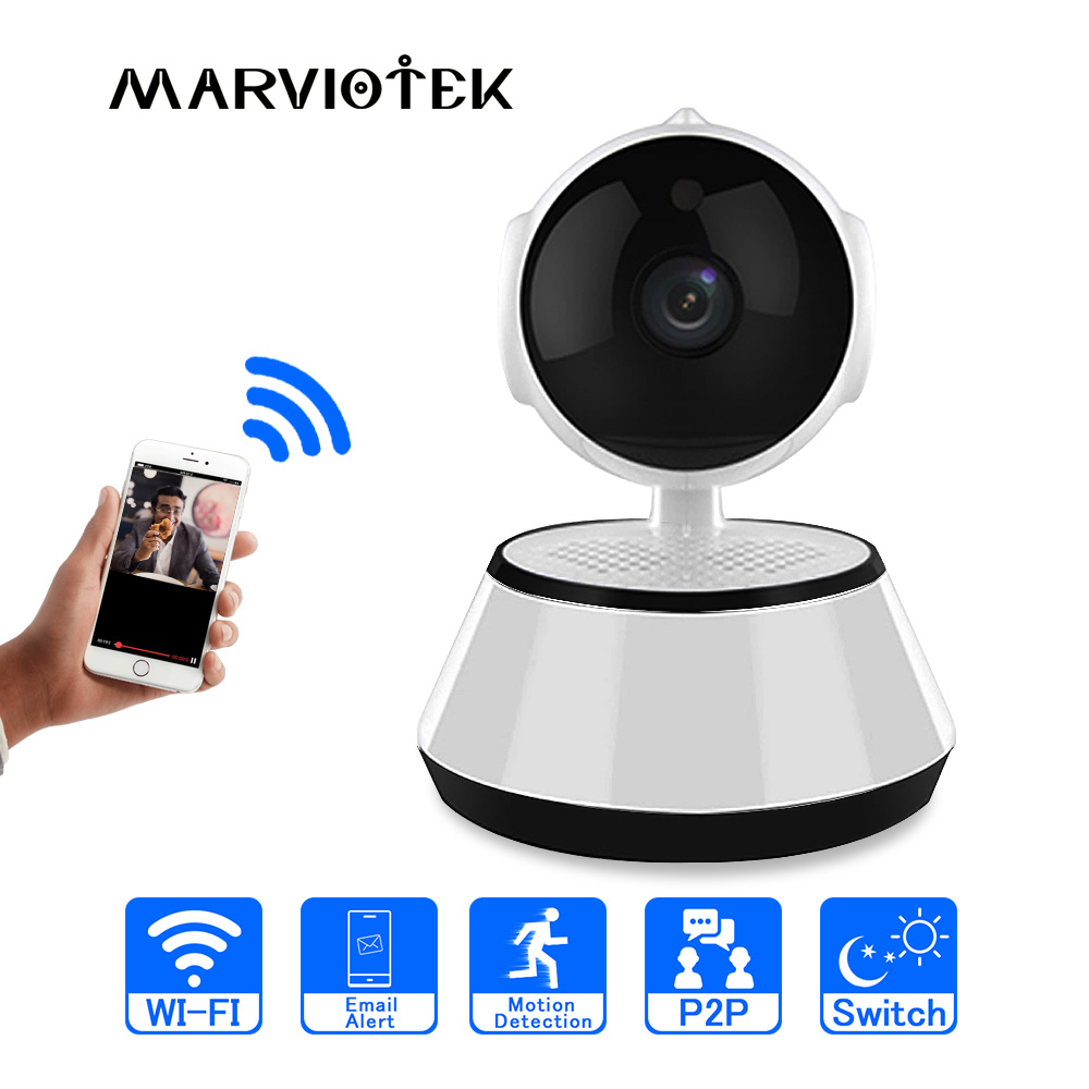 Home Security 720P IP Camera WiFi Video Surveillance Two Way Audio Mini Camera HD Night Vision CCTV Camera Wireless Baby Monitor
