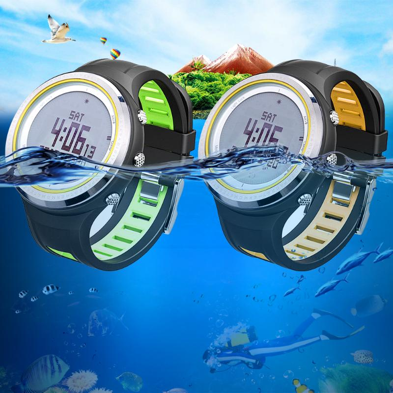 Mutifunctional Digital watch Men sport watch clock fishing Weather Altimeter Barometer Thermometer Compass Altitude hiking hours north edge men sports watch altimeter barometer compass thermometer weather forecast watches digital running climbing wristwatch