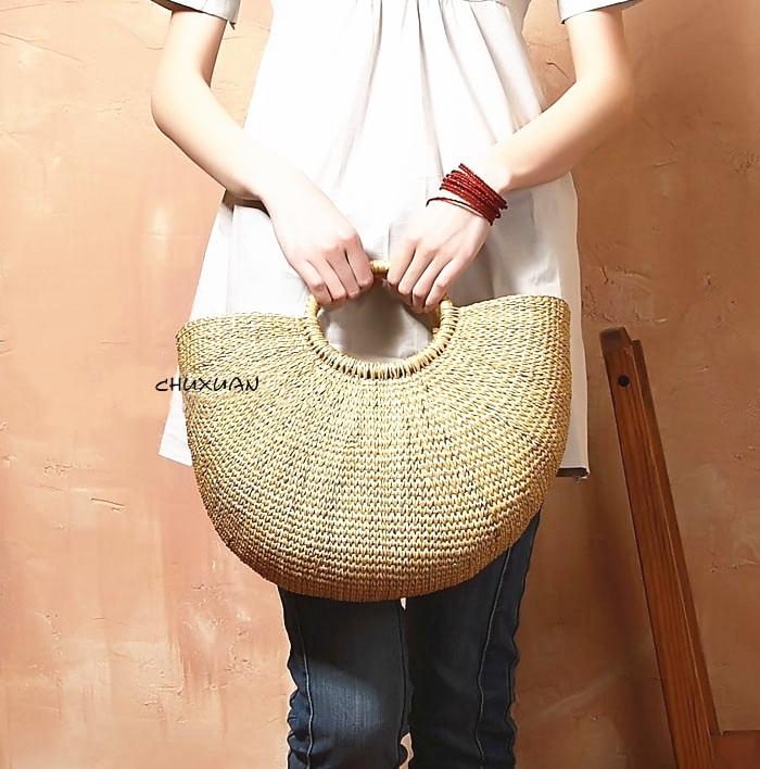 ФОТО 2017 new arrival quality  straw women's tote bag female handbag beach bag