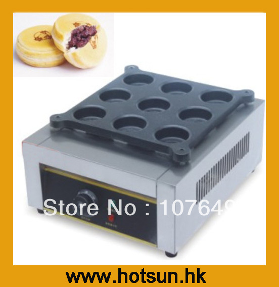 Hot Sale 220V Electric Japanese Red Bean Cake Oven hot sale 16pcs gas bean cake machine
