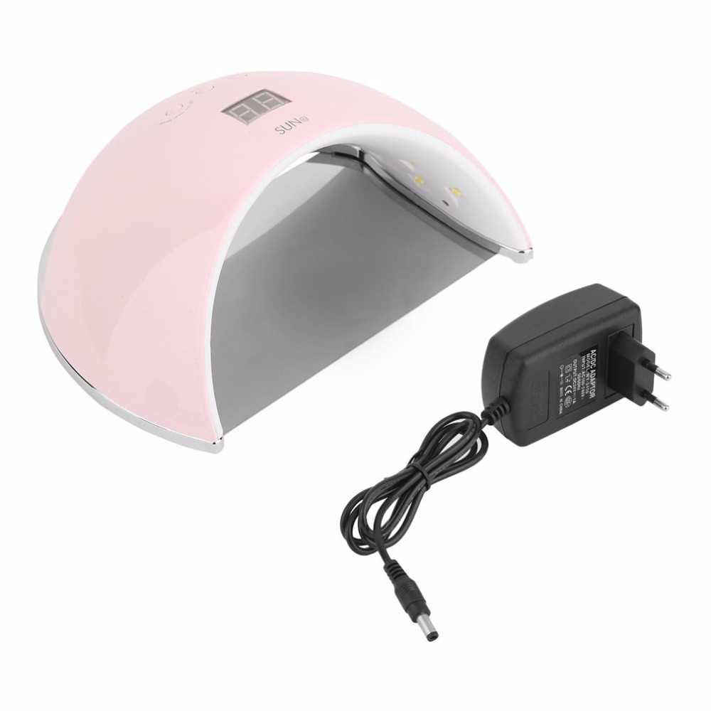 48W Professional LED UV Nail Lamp Nail Polish Dryer For Curing Nail Gel Polish Nail Art Manicure Tool SUN6 EU Plug Hot New biutee professional 48w uv led nail lamp dryer for nail gel polish curing art manicure automatic sensor nail tools