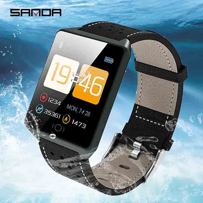 Smart Watch Men CK19 Touch Screen LED Watches fitness tracker smart wistband For IOS And Android Waterproof Bluetooth Smartwatch