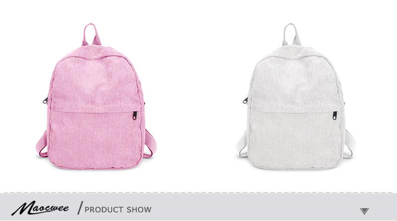 HTB1at6vXcvrK1Rjy0Feq6ATmVXaQ Women Backpack Youth Small Solid Casual Backpacks Students School Bag Teenage Girls Vintage Laptop Bags Rucksack Mochila