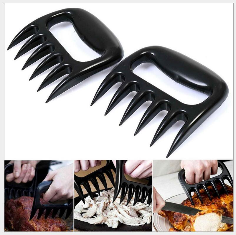 New Meat BBQ Barbecue Tool Claw Meat Splitter Cooked Meat Fork Meat Fork Splitter #WL099