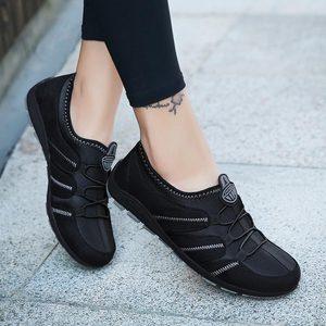 Image 3 - Chaussures de course à enfiler pour femmes, baskets pour femmes, de Sport, bleues, 2019