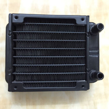 80mm Straight Mouth Water Cooling Row Radiator Heat Exchanger Computer PC Industrial