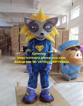 Colovely Grey Wolf Coyote Mascot Costume Mascotte Vixen Fox With Small Eyes Blue & Buy purple fox costume and get free shipping on AliExpress.com