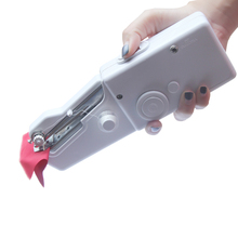 2017 NeedleWork Mini Sewing Machine Portable Hand Sewing Machine Clothes Fabrics Electric Sewing Up Bobbine Naaimachine