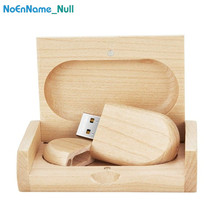 new wooden usb flash drive 128gb pendrive 16gb 32gb memory stick 2.0 special gift with box company custom logo