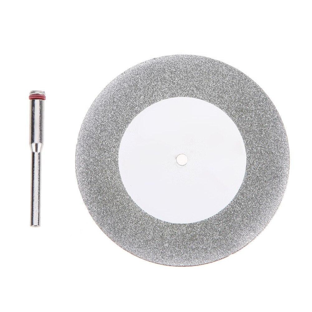 60mm Cutting Disc Mandrel Dremel Accessories Mini Circular Saw Blade Electric Saw For Drill Steel Rotary Cutting Tool