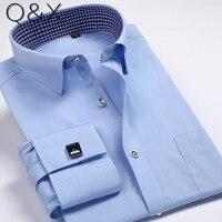 SH1 Nieuwe Collectie Mens Turn-Down Kraag Formele Shirts Lange Mouwen Slim Fit Casual Shirt Heren Effen Kleur/Plaid Overhemden