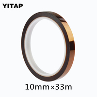1roll 0 4 Inch 108ft High Temperature Heat BGA Tape Thermal Insulation Tape Polyimide Adhesive Tape