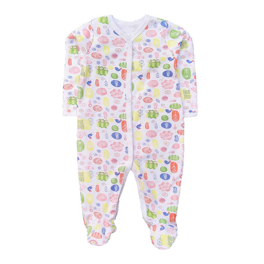 2018 Newborn baby clothes  Baby boy girl  romper long sleeve cotton  unisex cartoon cute anti-scratch infant clothing cotton newborn infant baby boy girl clothing romper sleeveless cotton jumpsuit cute animals clothes outfits