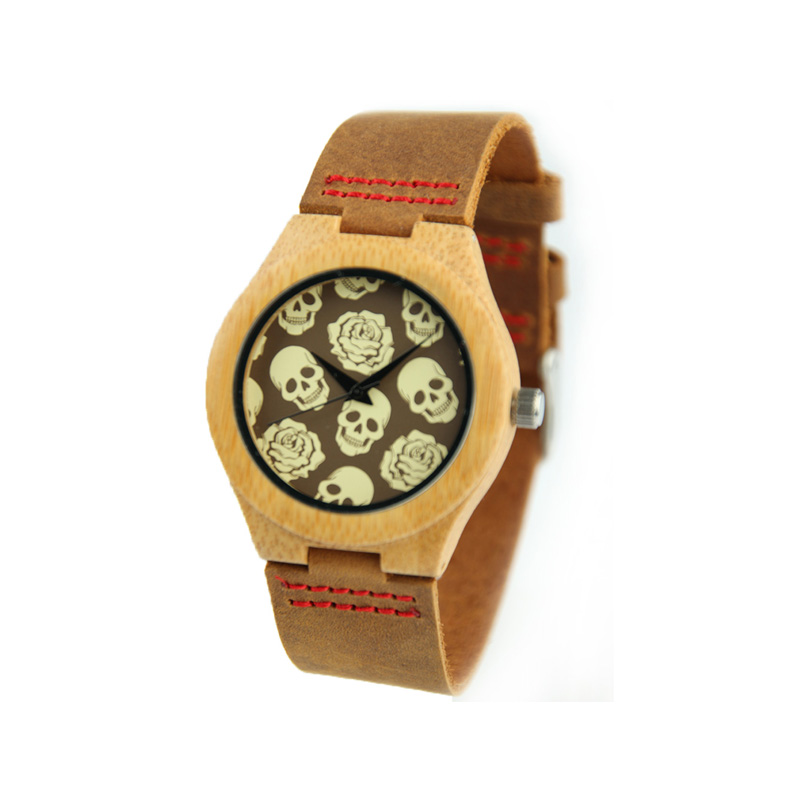 Top Gift Wood Watches Men's Unique 100% Nature Wooden Bamboo Handmade Quartz Wrist Watch Male Sport Leather Band Clock Masculino mens top brand design wood wrist watch full bamboo band wooden quartz watches men sports casual clock elegant gift dropshipping
