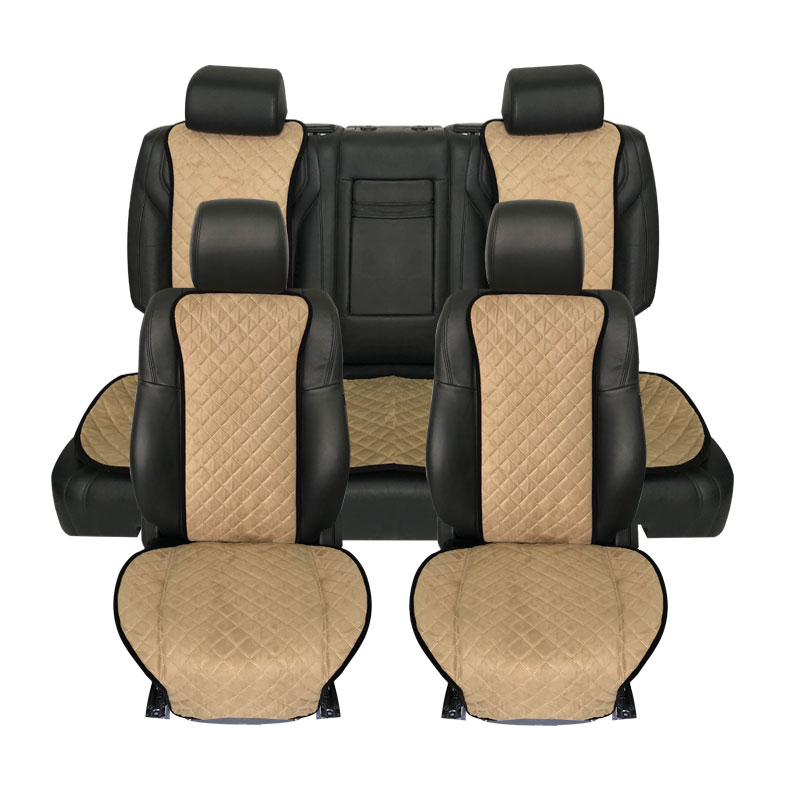 High Quality Car Seat Cover Compatible With All Vehicles Suede Seat Cushion Decorate Protector Seats Brand