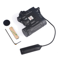 SEIGNEER тактический страйкбол фонарик DBAL-D2 Красный лазер и ИК лазер и светодиодный фонарик DBAL-EMKII многофункциональное оружие Свет (EX328)