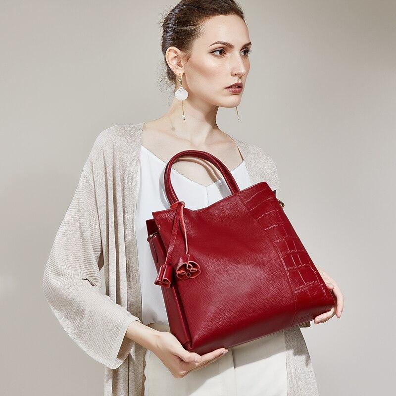 ZOOLER sacs sacs à main femmes marques célèbres sacs de voyage élégant véritable cuir femme sac designer De Luxe Dame Fourre-Tout-bolsa feminina #926