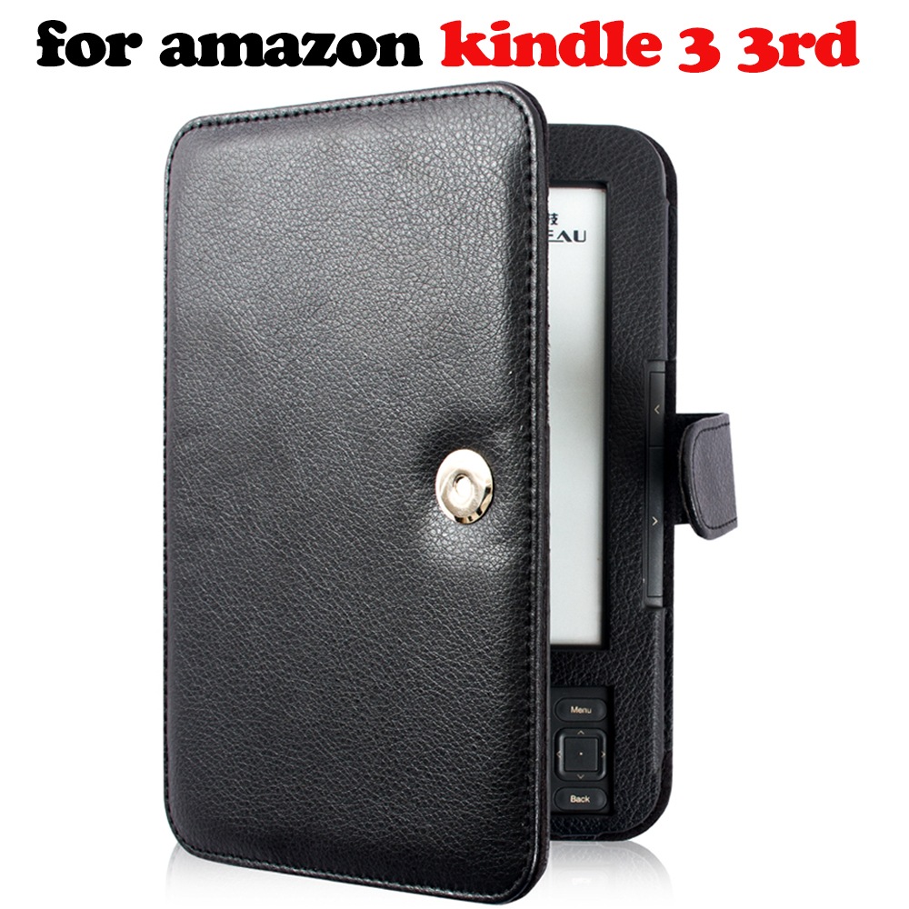 Étui pour Amazon Kindle 3 3rd génération ebook lecteur clavier protecteur d'écran + stylet