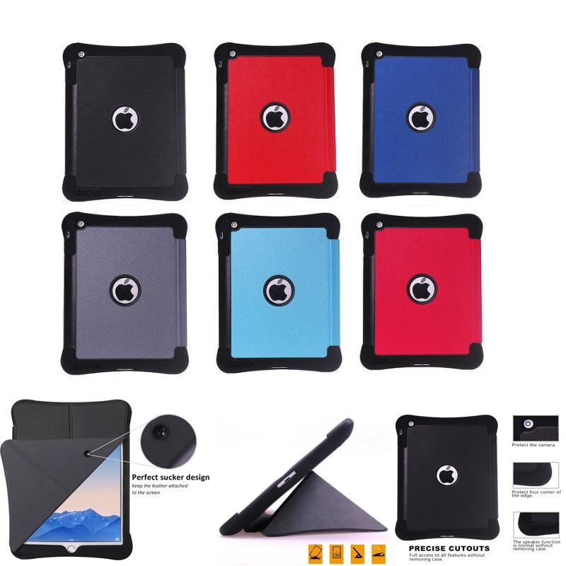 цена Case For Apple iPad 4 iPad3 iPad2 Protective Smart cover Protector Leather PU Tablet For iPad4 iPad 3 2 Sleeve Covers 9.7 inch онлайн в 2017 году